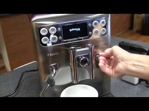 saeco exprelia automatic espresso machine reviews