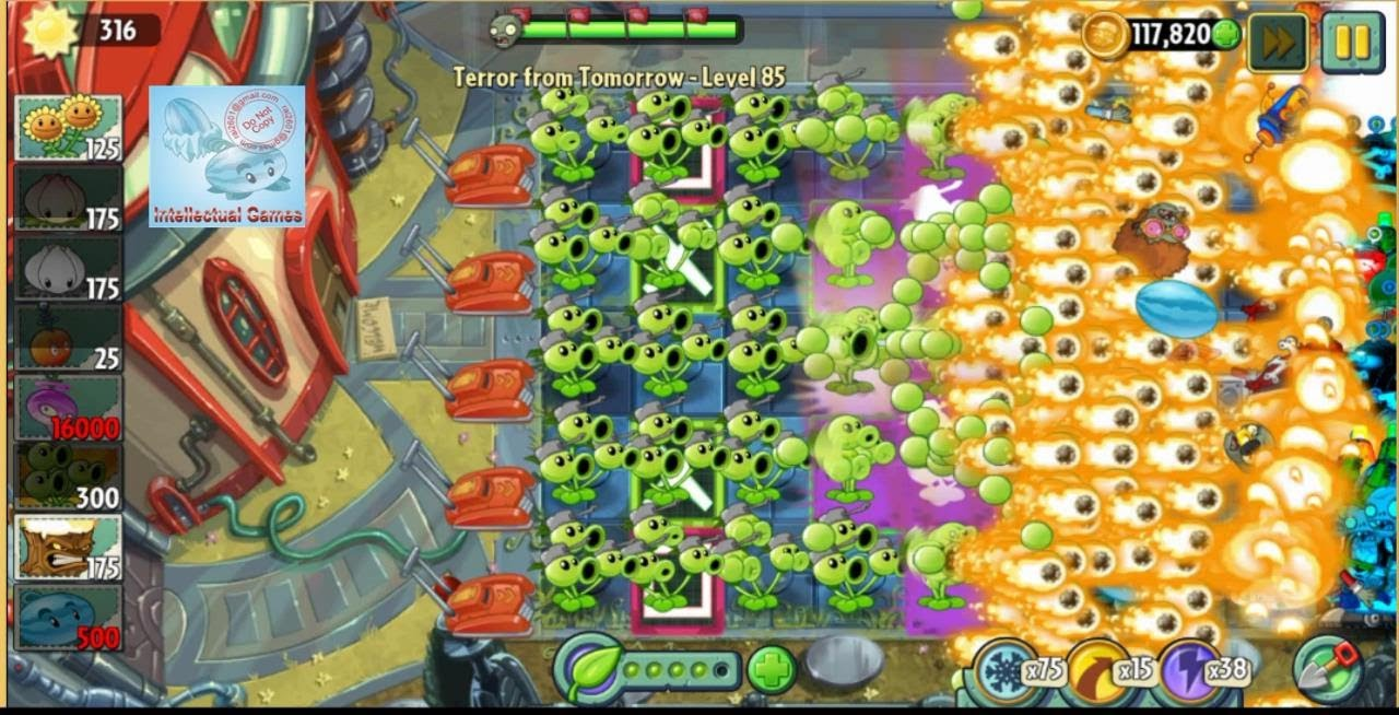 Plants vs zombies spikerock