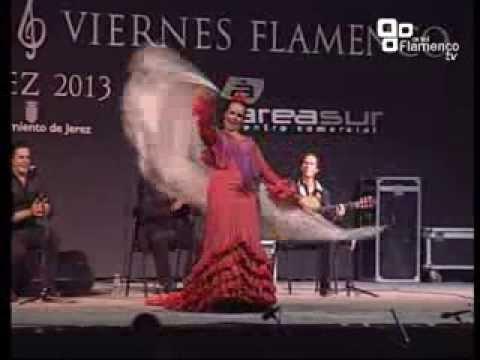 CLAUDIA CRUZ -  Alegrias  - V Viernes Flamenco 2013