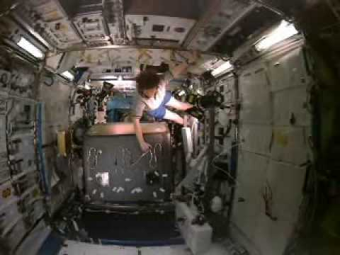 Inside space station - AMJ Sirajudeen