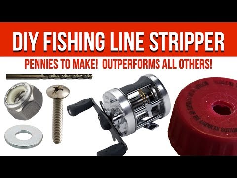 DIY Fishing Line Stripping Tool Works Better Than All Others