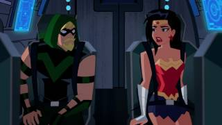 "Justice League Action - ""The Trouble with Truth"" clip 1"
