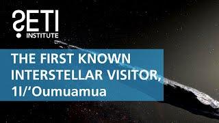 1I/'Oumuamua, The First known Interstellar Visitor - Matija Cuk & Meg Schwamb (SETI Talks 2018)