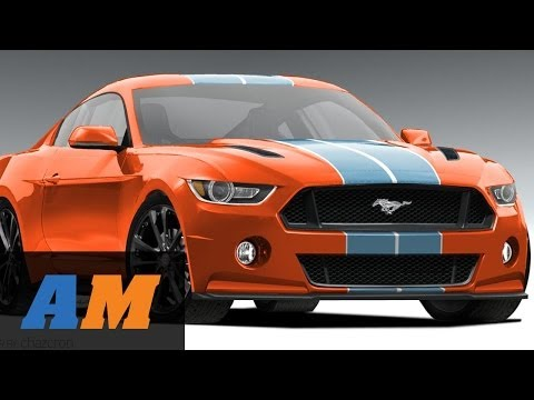 REVEALED: 2015 Ford Mustang! CRAZY Mustangs of SEMA 2013 - December 2013 at AmericanMuscle.com
