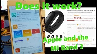 Mi Band 3 meets the Iphone... Is it Possible?