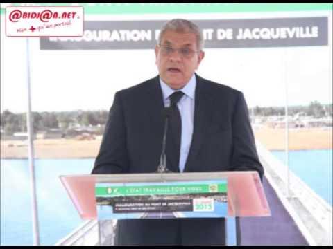 Inauguration du pont de Jacqueville : Discours du Premier Ministre d`Egypte, Mr Ibrahim MAHLAB