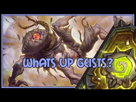 Hearthstone: Whats up geists? (elemental mage)