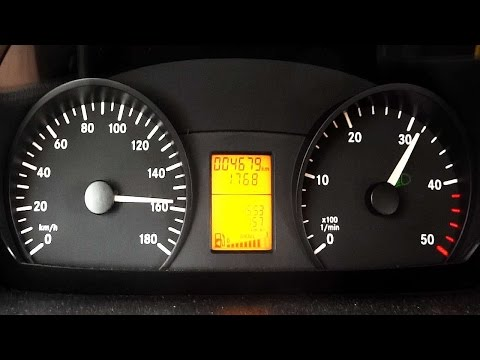 Mercedes Sprinter 313 CDI Acceleration 0-100 Top Speed Test