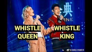 Darren Espanto whistles in Singer 2019 China