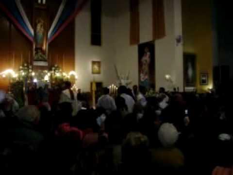 VIRGEN DEL ROSARIO DE SAN NICOLAS – Padre Fernando Abraham – Avellaneda – 25/09/2009 (Ingreso)