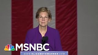 Elizabeth Warren Sees Her Biggest Crowds Yet At Rally In New York City | Deadline | MSNBC
