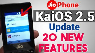 Jio Phone New Update Tips and Tricks & Hidden Features | Kai OS 2.5 in Hindi