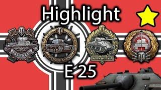 World of Tanks - Stream highlight - E 25 (1900+ xp, KOLOBANOV, 5k4 dmg)
