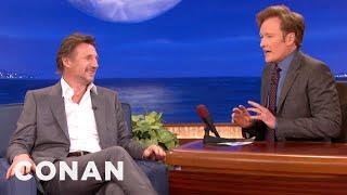 Liam Neeson & Conan Are Pasty Irishmen - CONAN on TBS