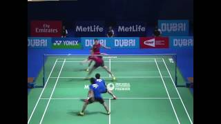 Unbelievable Badminton Rally