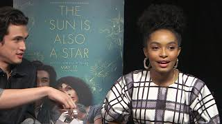 Fishbowl Frenzy with Yara Shahidi and Charles Melton