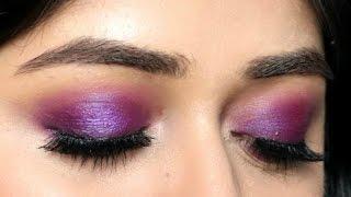 Makeup TUTORIAL : Purple Eyes