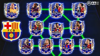 FC Barcelona Sextuple 2009 + Treble 2015 Squadbuilder | Messi | Henry | Puyol |