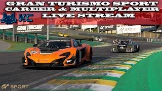 Gaming :Gran Turismo Sport (PS4) 🚗 Career & Online Multiplayer (Live Stream🔴 17/08/2018)