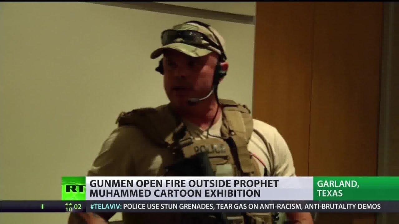 Shock and draw: Gunmen attack Texas 'Muhammad cartoon' exhibition