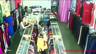 Trộm tại shop quần áo tại Trường Chinh ai biết cho 100 triệu