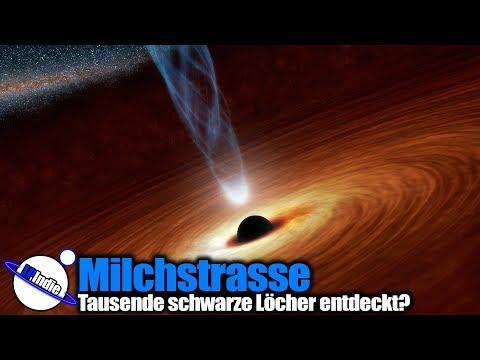 Milchstrasse: Tausende schwarze Löcher entdeckt?