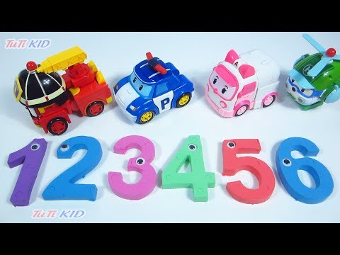 Learn Colors with Kinetic sand DYI How to make 123456 Learning numbers for kids
