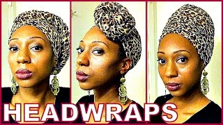 How To: Tie a Headwrap
