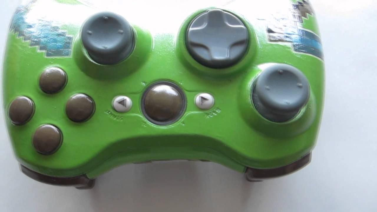 Xbox 360 Controller Custom Minecraft Custom Xbox 360 Controller
