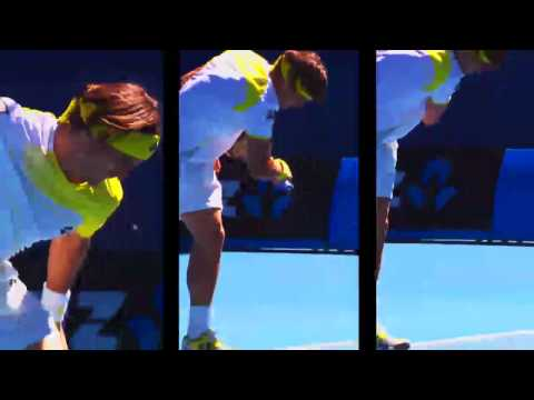 The Hustle of David Ferrer - Australian Open 2013
