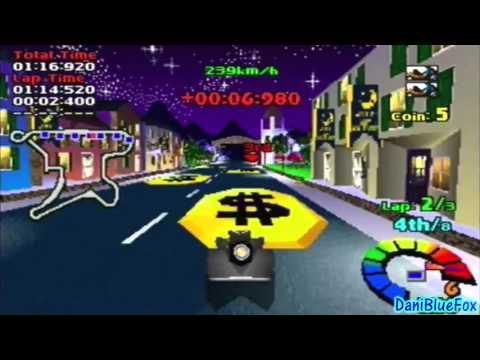 Motor Toon Grand Prix 2 - Gameplay Sample [PSX]