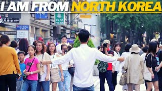 I am North Korean Defector, Would You Hug me? [Social Experiment In South Korea]