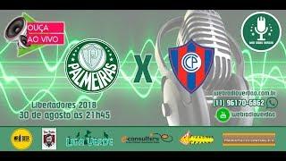 Transmissão VIVO - Palmeiras x Cerro Porteño