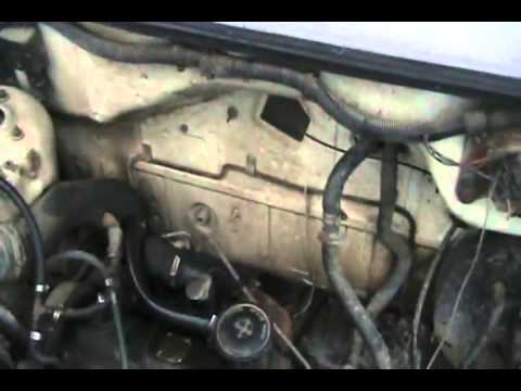 #1206 How to unclog a heater core to get good heat [Davidsfarm]