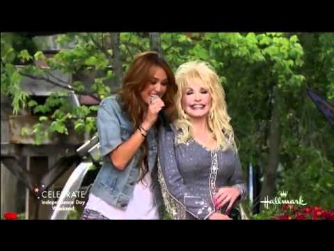 Jolene Performed By Dolly Parton & Miley Cyrus  360p video