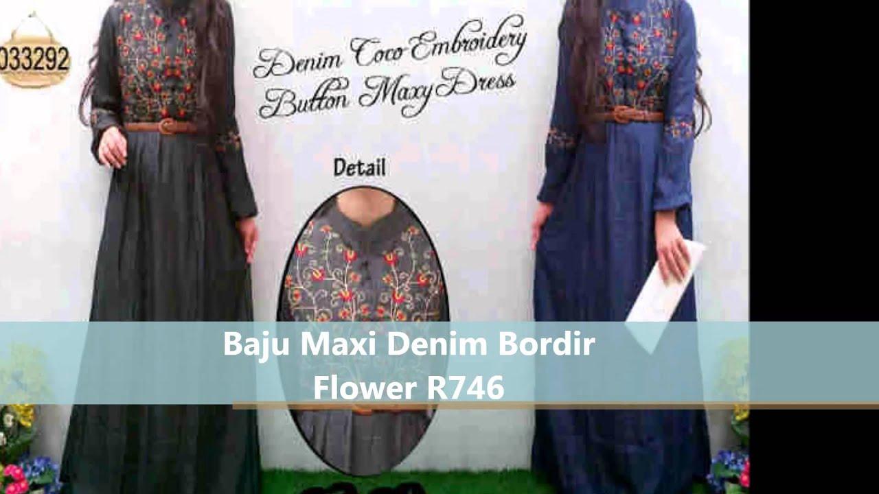 Baju Maxi Dan Gamis Muslimah Terbaru Gamis Remaja