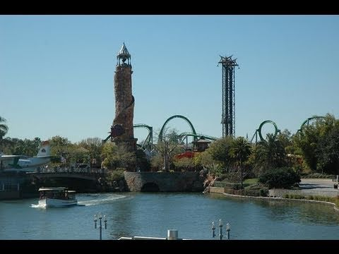 ISLANDS OF ADVENTURE AT UNIVERSAL ORLANDO PARK TOUR OVERVIEW 2011 HD!