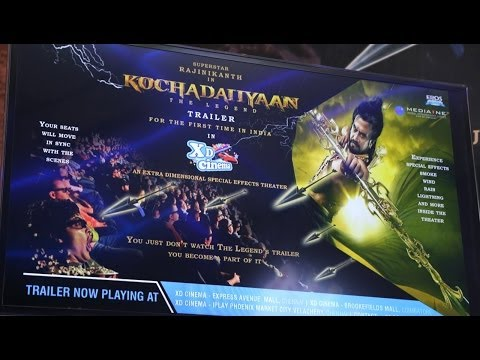 Kochadaiiyaan XD format Trailer Launch