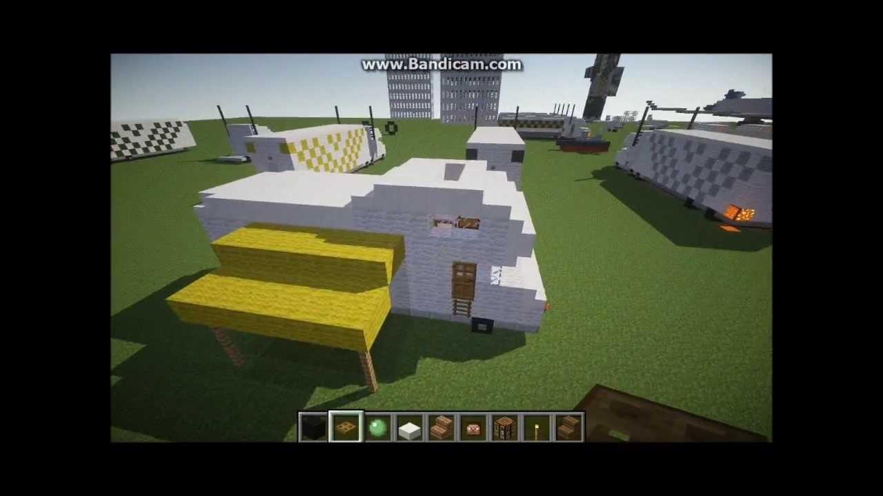 Camper Van Rv >> Minecraft How To Build a Camper Van/RV #2 - YouTube
