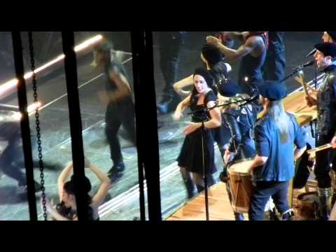 Madonna Open Your Heart W son Rocco Ritchie Dancers Sexy Black Leather video