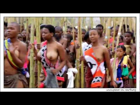 2012 Umhlanga Reed Dance Ceremony, Swaziland (6) video