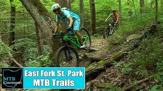 East Fork State Park Mountain Bike Trails Review by MTB Cincinnati