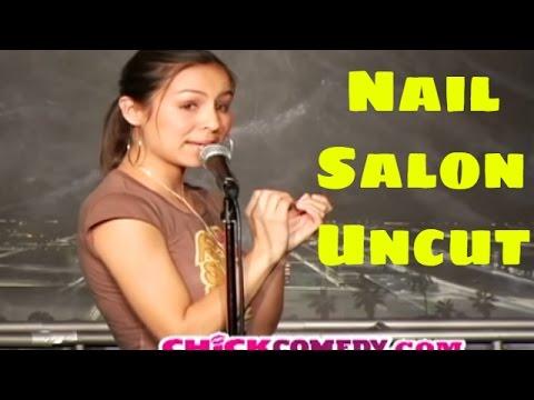 Anjelah Johnson Nail Salon Skit Script 27