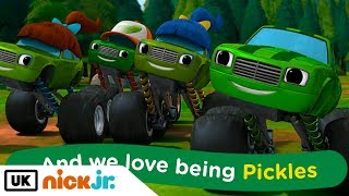 Blaze and the Monster Machines | Sing Along: Pickle Family | Nick Jr. UK