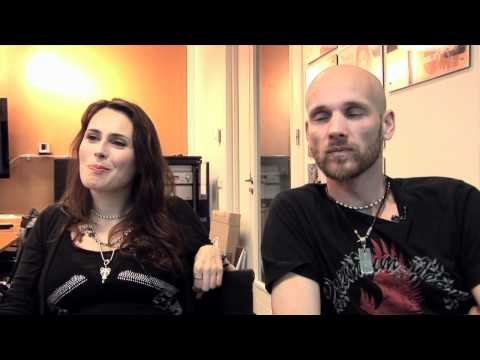 Interview Within Temptation - Sharon den Adel and Robert Westerholt (part 3)