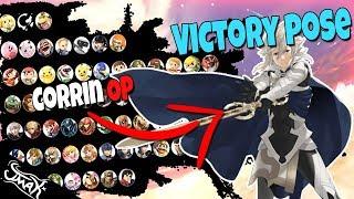 Smash Bros Ultimate Tier List Based on Victory Screen