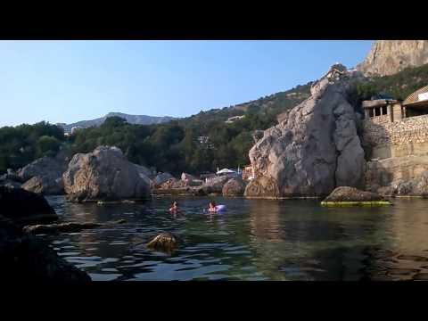 Мы едим в Ласпи ❤️ Чистая, теплая вода и красивый закат. Крым 03.08.2016