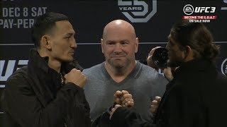 UFC 231: Pre-fight Press Conference Faceoffs