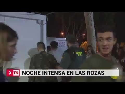Noche de intenso trabajo policial en las fiestas de Las Rozas