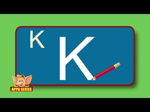 Learn Alphabets - Letter K